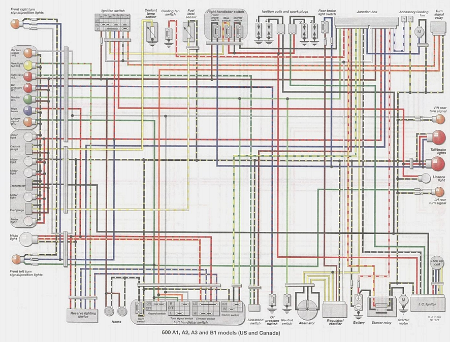 Zx6r G Wiring Diagram : Zx r wiring diagram free engine image for user