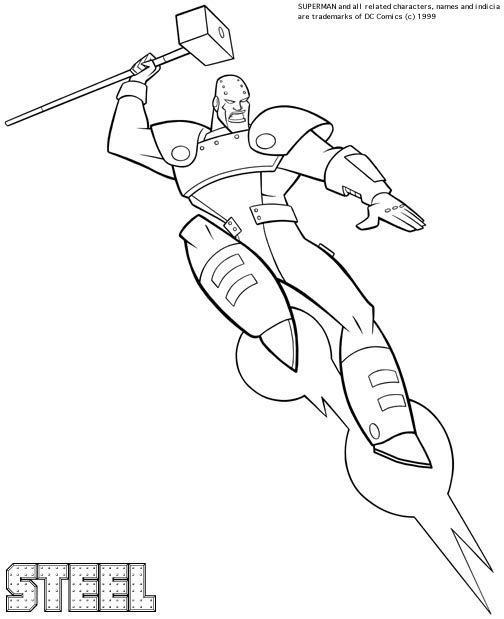 super boy coloring pages - photo#15