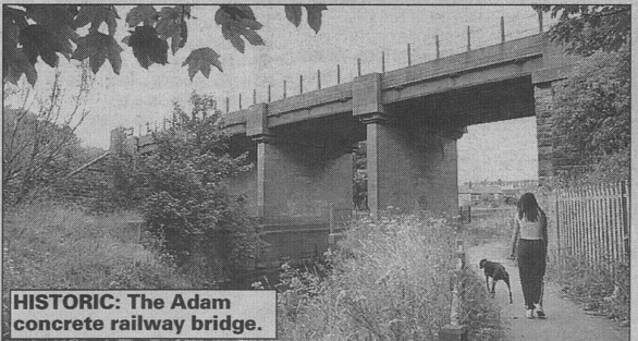 All Our Wigan Yesterdays Adam viaduct Adambridge